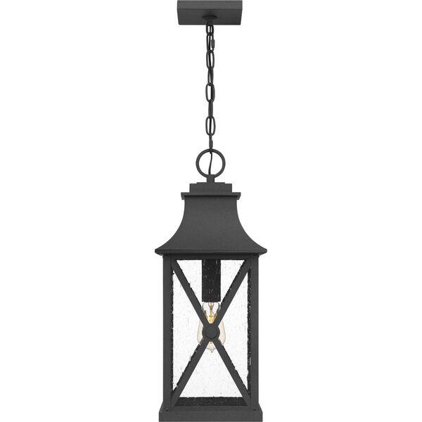 Ellerbee Mottled Black One-Light Outdoor Pendant, image 3