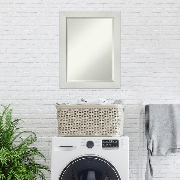 Mosaic White 22W X 28H-Inch Bathroom Vanity Wall Mirror, image 3