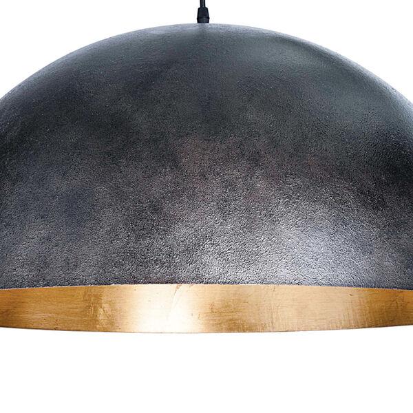 Sigmund Blackened Steel One-Light Pendant, image 5