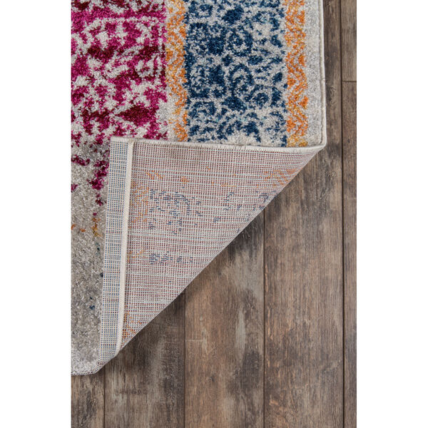 Haley Multicolor Rectangular: 9 Ft. 3 In. x 12 Ft. 6 In. Rug, image 6