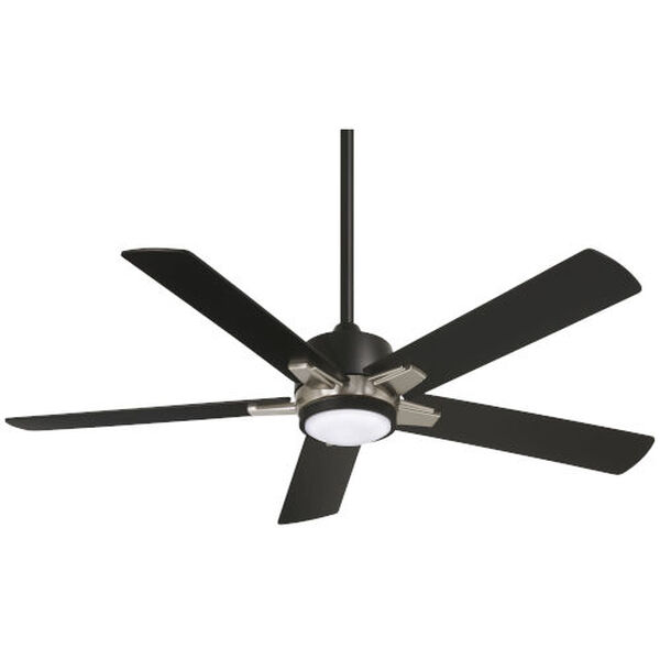 Stout Coal 54-Inch LED Ceiling Fan, image 1