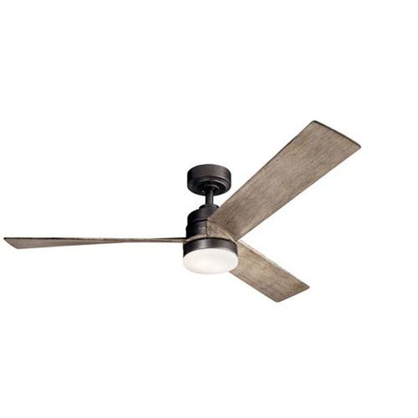 Spyn Anvil Iron LED 52-Inch Ceiling Fan, image 1
