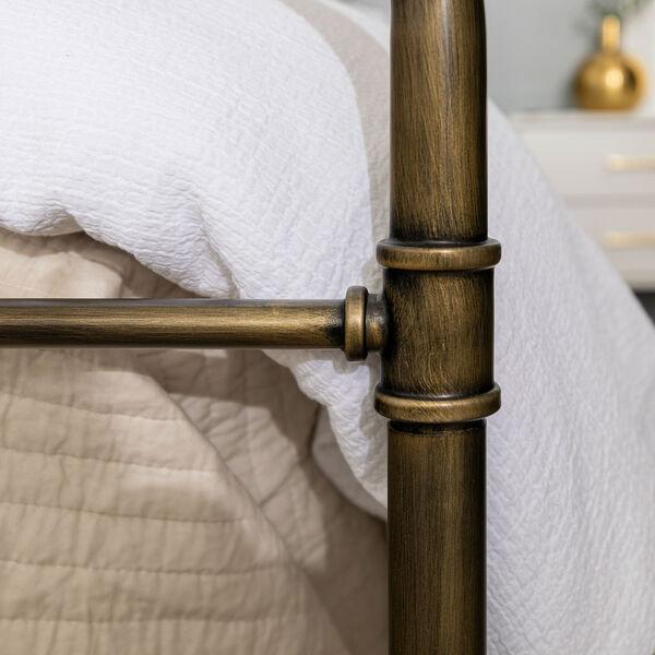 King Bronze 84-Inch Bronze Metal Pipe Bed, image 7