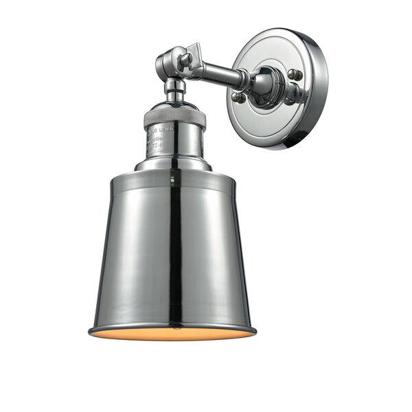 Addison Polished Chrome One-Light Wall Sconce, image 1