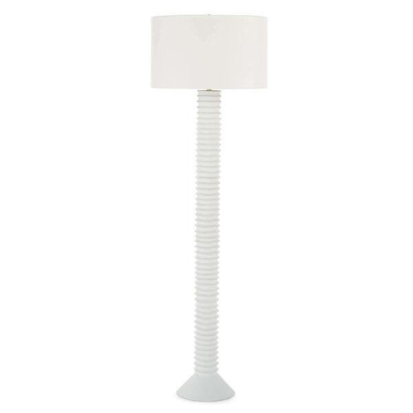 Nabu White One-Light Floor Lamp, image 1