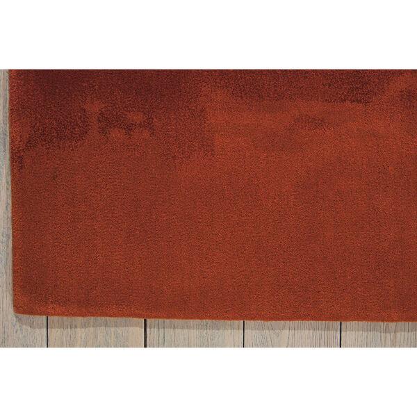 Luster Wash Russet Tones Rust Rectangular: 4 Ft. x 6 Ft. Rug, image 3