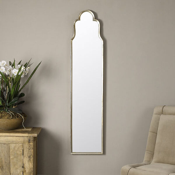 Kenwood Silver Arched Floor Mirror, image 3