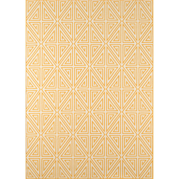 Baja Diamonds Yellow Indoor/Outdoor Rug, image 1