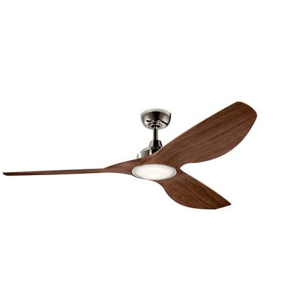 Imari Polished Nickel LED 65-Inch Ceiling Fan, image 1