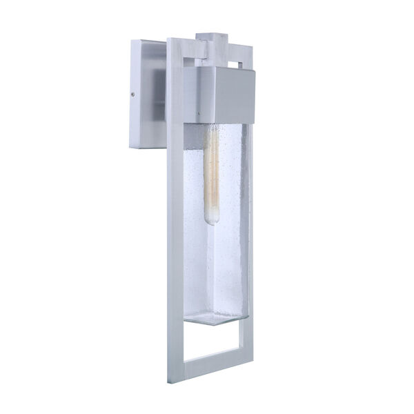 Perimeter Satin Aluminum 22-Inch One-Light Outdoor Wall Sconce, image 1