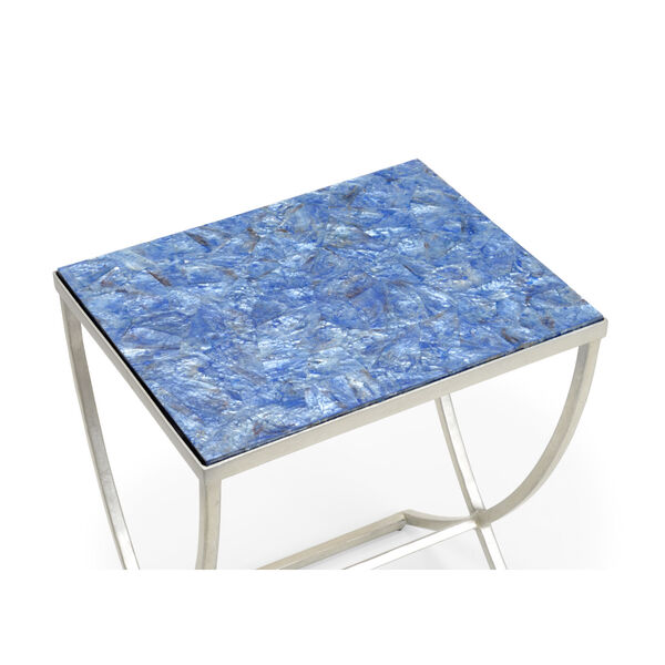 Blue 24-Inch Talitha Tables, Set of 2, image 2