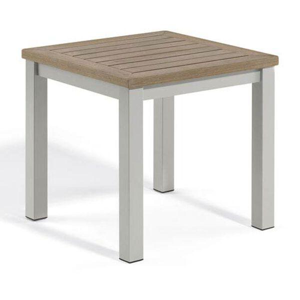 Travira Vintage Tekwood End Table, image 1