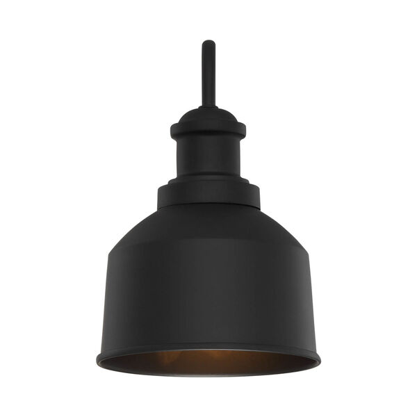 Lex Matte Black Six-Inch One-Light Outdoor Wall Sconce, image 4