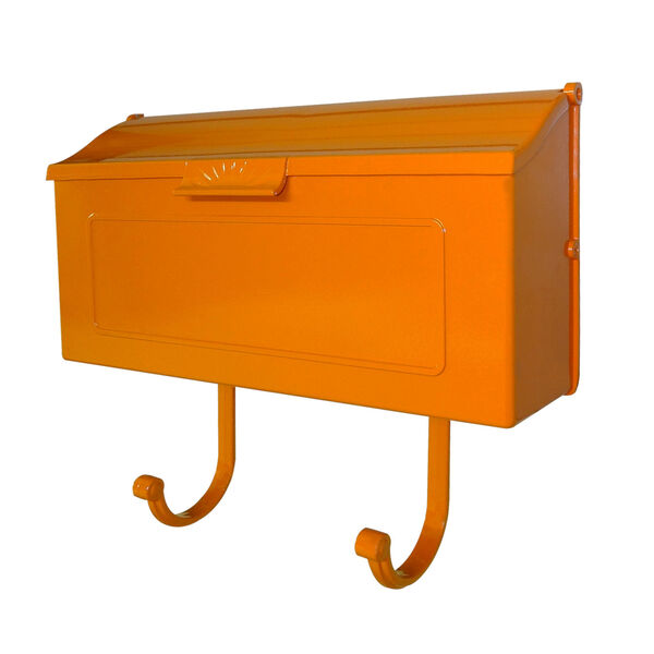 Nash Orange Horizontal Mailbox - (Open Box), image 2