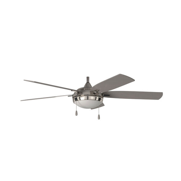 Lun-Aire Brushed Nickel LED Ceiling Fan, image 7