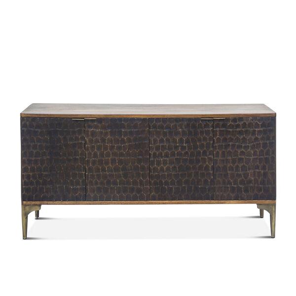 Vallarta Bronze and Brown Sideboard, image 1