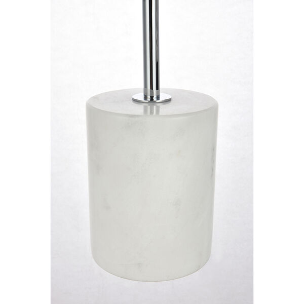 Eclipse Chrome One-Light Table Lamp, image 6