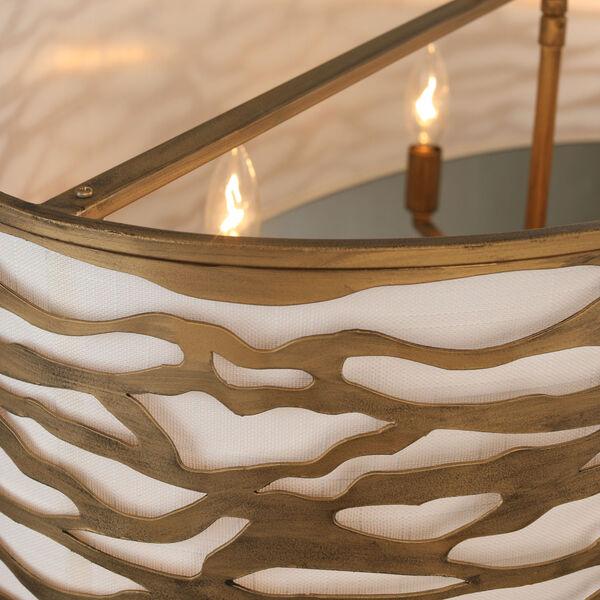 Kato Havana Gold 36-Inch Six-Light Pendant, image 3