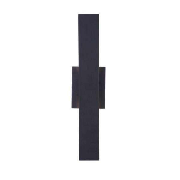 Rens Midnight Black Medium LED Outdoor Lantern, image 2