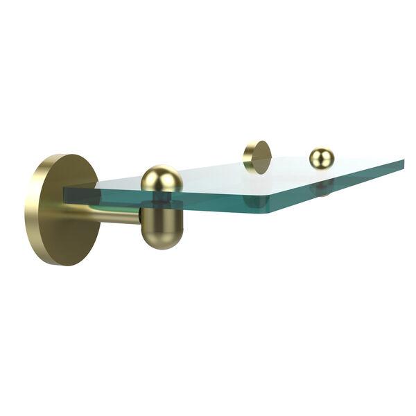 Satin Brass 16-Inch Single Shelf, image 1