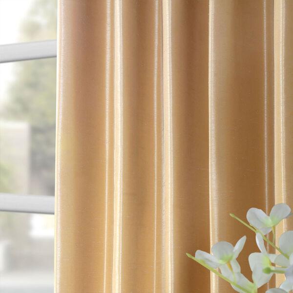 Butternut 50 x 96-Inch Vintage Textured Faux Dupioni Silk Curtain, image 8