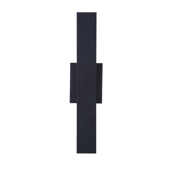 Rens Midnight Black Medium LED Outdoor Lantern, image 1
