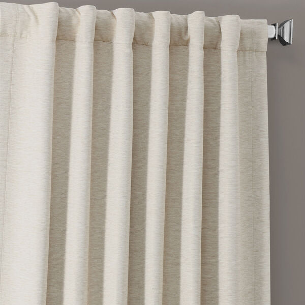 Bellino Cottage White 50 x 96-Inch Blackout Curtain, image 9