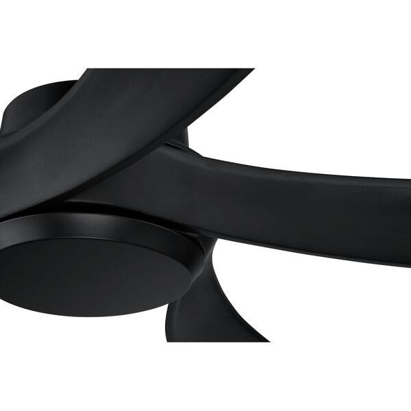 Captivate Flat Black 52-Inch Ceiling Fan, image 4