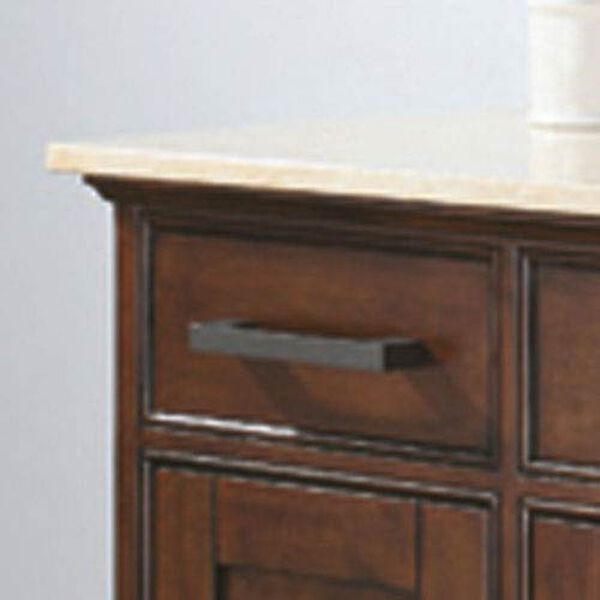 Madison 60-Inch Vanity Only in Tobacco Finish, image 3