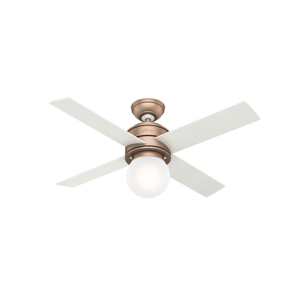 Hepburn Satin Copper 44-Inch LED Ceiling Fan, image 1