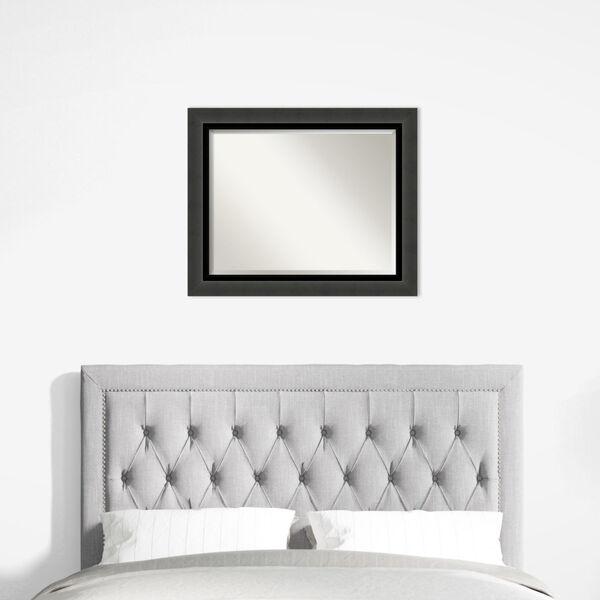 Tuxedo Black 34W X 28H-Inch Bathroom Vanity Wall Mirror, image 6