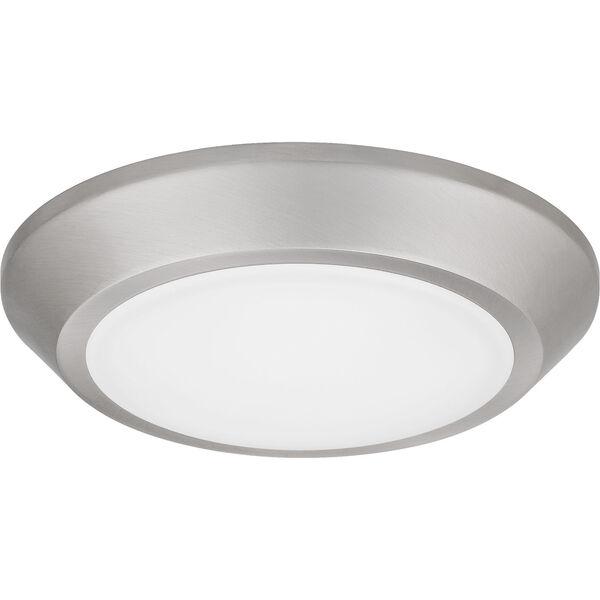 Verge Brushed Nickel LED Flush Mount, image 2