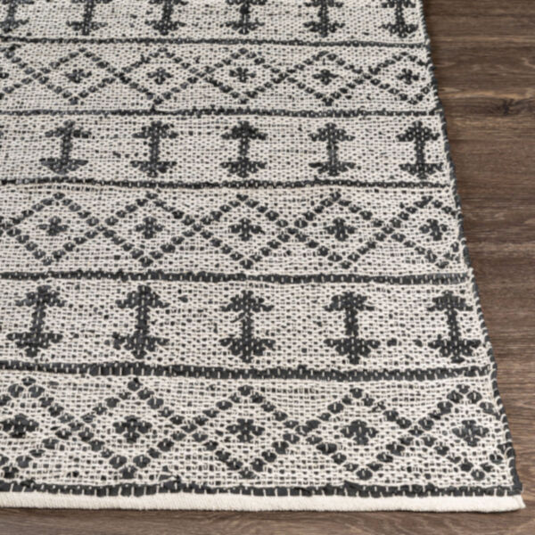 Lexington Khaki and Black Rectangular Rug, image 3