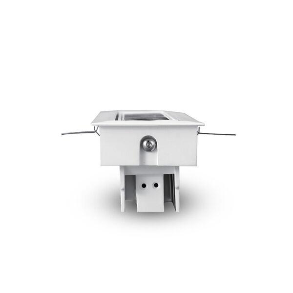 Rubik White Three-Light Adjustable LED Recessed Downlight, image 4