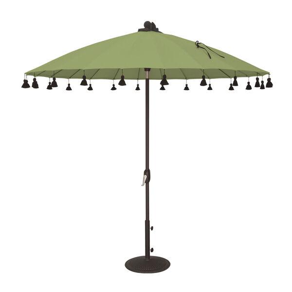 Isabela Green 8.5-Feet Round Auto Tilt Umbrella, image 1