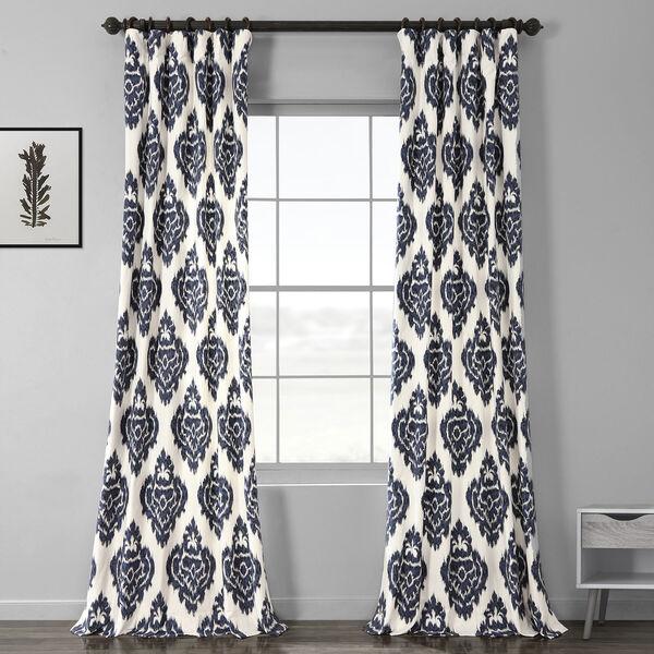 Ikat Multi 50 x 96-Inch Printed Curtain, image 1