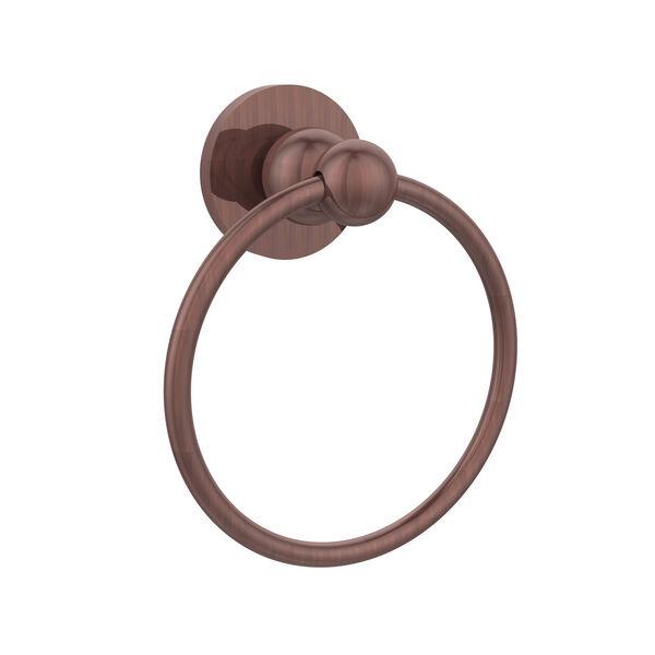 Antique Copper Towel Ring, image 1