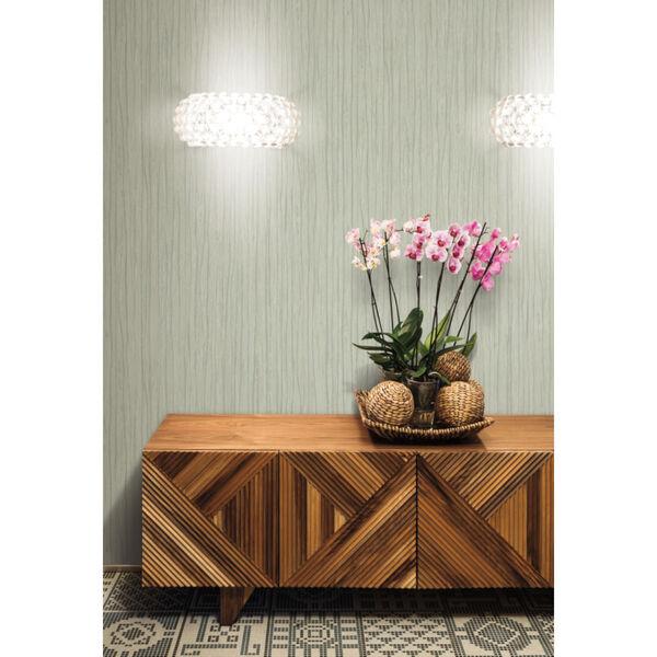 Antonina Vella Elegant Earth Sage Temperate Veil Stripes Wallpaper, image 1