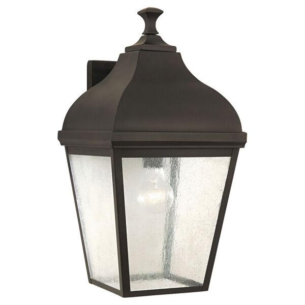Terrace Oil Rubbed Bronze Outdoor Wall Lantern Light, image 1