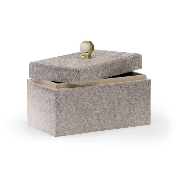 Gray 12-Inch Hyde Lodge Box, image 2