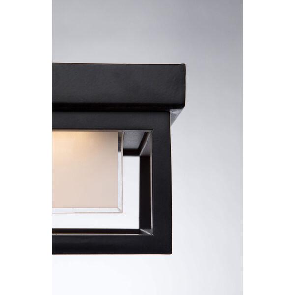 Overbrook Black One-Light LED Outdoor Flush Mount, image 2