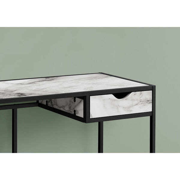 20-Inch Rectangular Computer Desk, image 3