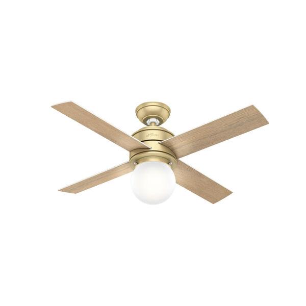 Hepburn Modern Brass 44-Inch LED Ceiling Fan, image 3