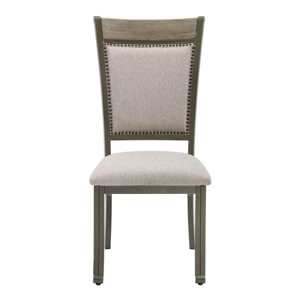 Elizabeth Pewter Dining Side Chair, Set of 2, image 1