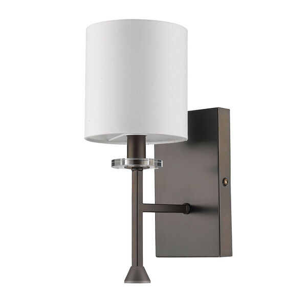 Kara Oil Rubbed Bronze One-Light Wall Sconce, image 1