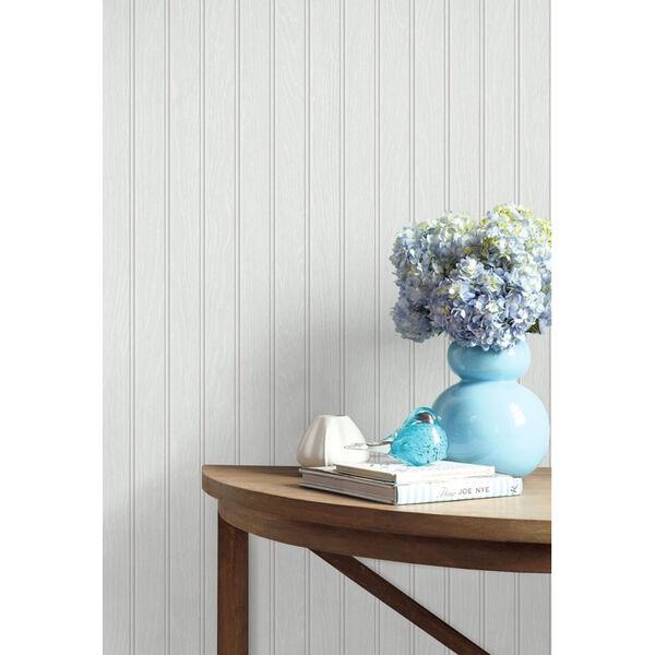 NextWall Beadboard Peel and Stick Wallpaper, image 1