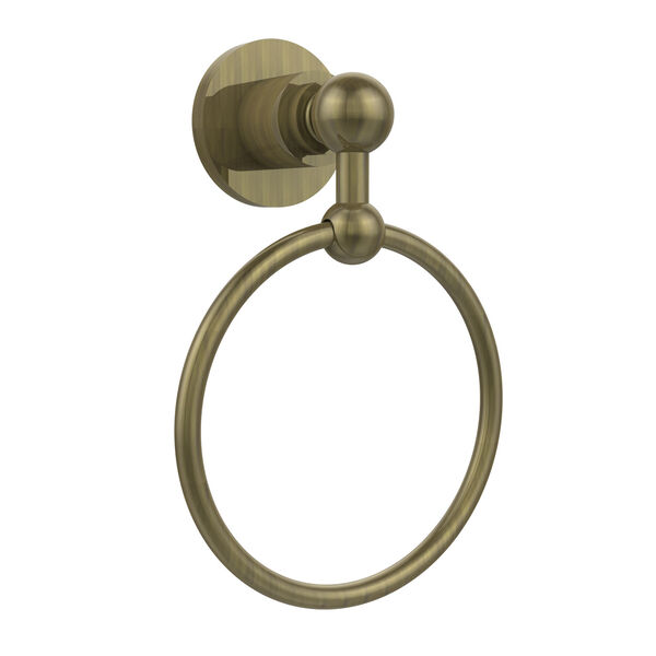 Astor Place Antique Brass Towel Ring, image 1