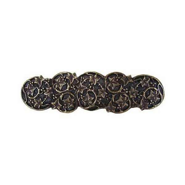 Antique Brass Ivy Pull, image 1