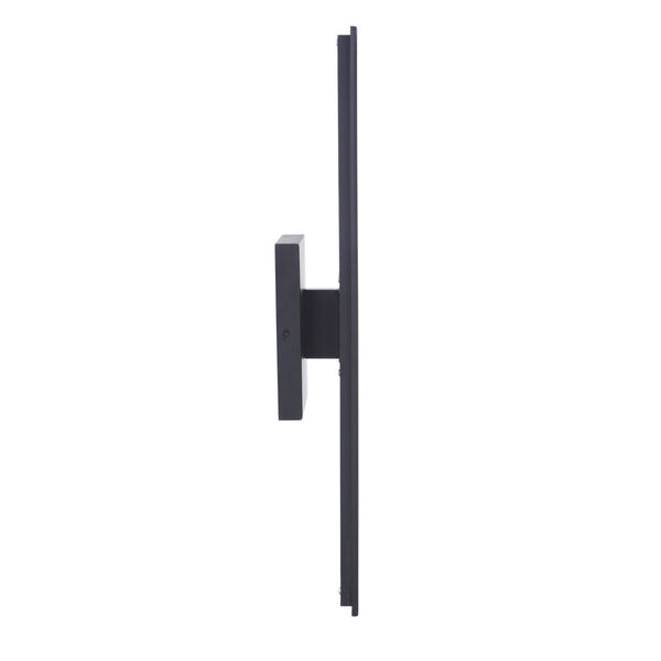 Rens Midnight Black Medium LED Outdoor Lantern, image 3