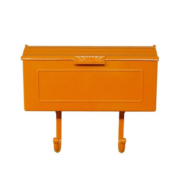 Nash Orange Horizontal Mailbox - (Open Box), image 1
